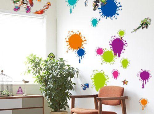 子ども部屋をスプラトューンみたいにオシャレに模様替えできるアイテム!